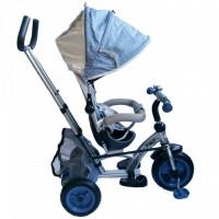 Tricicleta cu sezut reversibil Sunrise Turbo Trike Light Blue