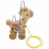 Studio Circus Jucarie de tras cu bile Girafa