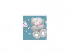 Reductor wc toaleta copii MyKids Bears Dirty Pink
