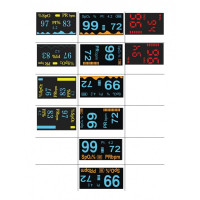 Pulsoximetru SinoHero S6 pentru deget, ecran color OLED 4