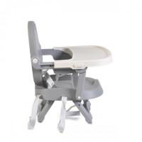 Scaun de masa, inaltator copii Cangaroo Papaya Grey