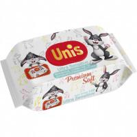 Set 120 Servetele umede antibacteriene fara miros Unis IV3173